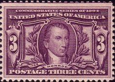 Monroe postage stamp, 1904