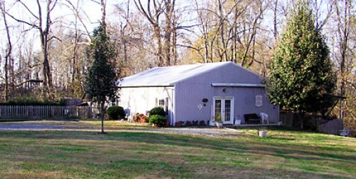 This is what the museum looked like at its location in Lovian, Va.
