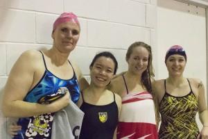 The winning relay team!