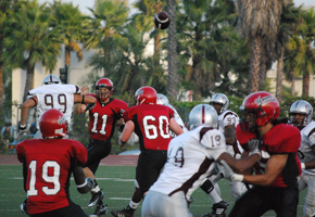 Antelope Valley leaps over Vaqueros