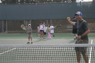 Aussie Open champs give back to Tennis Patrons