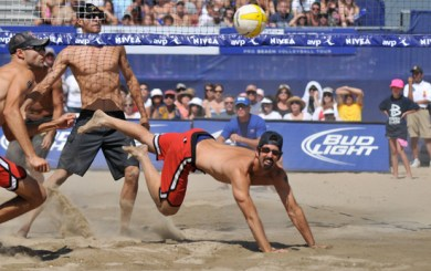 Todd Rogers at AVP Santa Barbara Open