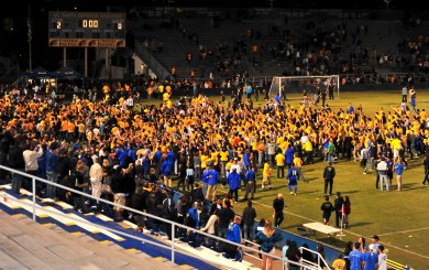 Gauchos treat record crowd to big win over UCLA