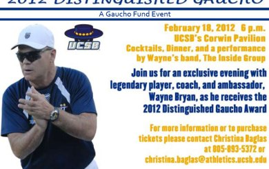 Wayne Bryan dinner at UCSB is sold out