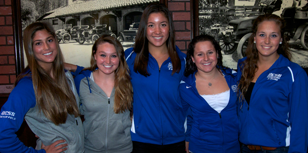 UCSB Swim Team and Water Polo team members