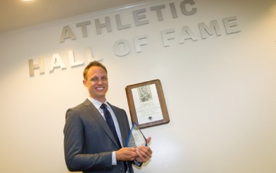 Tamas inducted into Laguna Blanca Athletic Hall-of-Fame