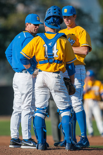 UCSB's second-year head coach Andrew Checketts is known for his ability to develop his pitching staffs. (UCSB Photo)