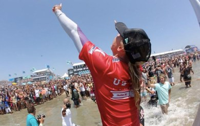 Lakey Peterson returns to Huntington to defend U.S. Open title
