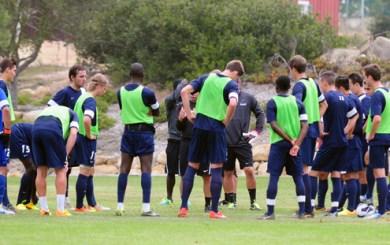 UCSB Soccer - 2013 Training Camp