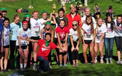 San Marcos Cross Country Team - Elings Terrain Festival