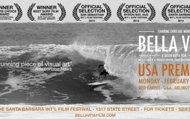 To the Maxxx: Morrison's channel swim featured at Santa Barbara Film Festival