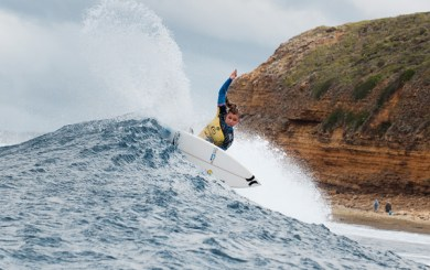 Peterson gets 5th at Bells Beach Pro