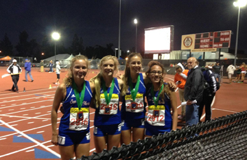 TRK: Royals relay teams run wild at Arcadia