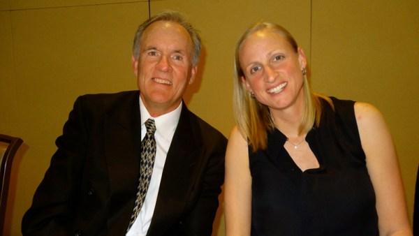 Westmont's John Moore and Kirsten Moore
