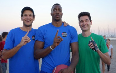 Dwight Howard Kickball
