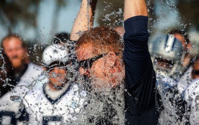 Photo Gallery: Jason Garrett's ALS Ice Bucket Challenge