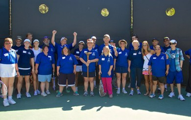 """Local Special Olympians put on a """"clinic"""""""