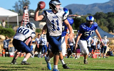McCaffery, Cate trio selected All-CIF in 8-man football