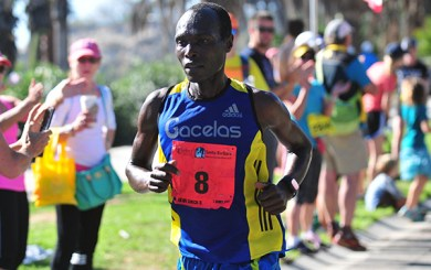 Mutai, Burgin fastest at Santa Barbara Marathon