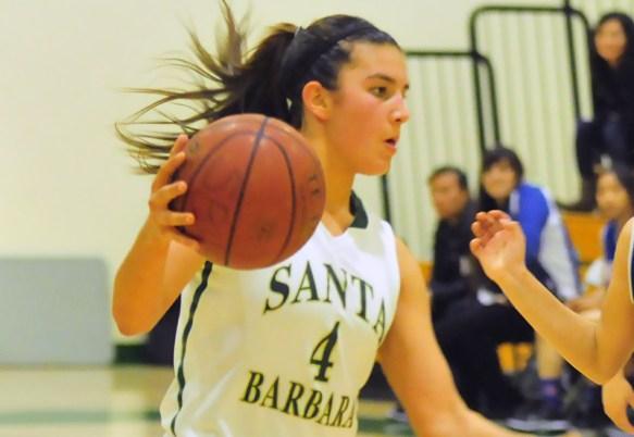 Santa Barbara High's Amber Melgoza