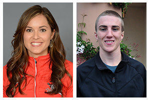 Cox, Escalante honored as Athletes of the Week
