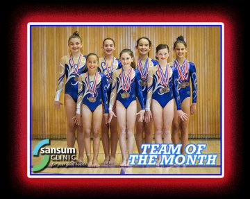 Team of the Month - Spirals Gymnastics of Santa Barbara