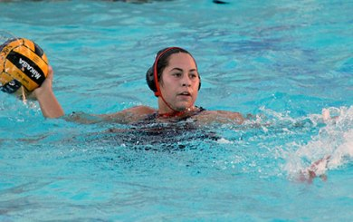 Fesembeck playing for Argentina at Pan Am Games