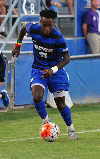 Geoffrey Acheampong - UCSB Men's Soccer