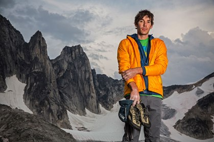 Alex Honnold - Rock Climbing at UCSB