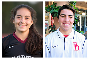 Soracco, Lopez named Athletes of the Week