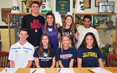 Santa Barbara High's college commitments