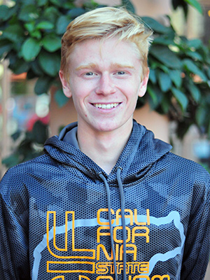 Dos Pueblos cross country runner Hunter Clark was the male Athlete of the Week.
