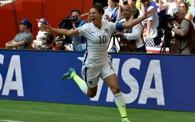 Carli Lloyd making Santa Barbara guest appearance at Arlington