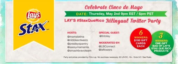 Lay's #StaxQueRico Twitter Party