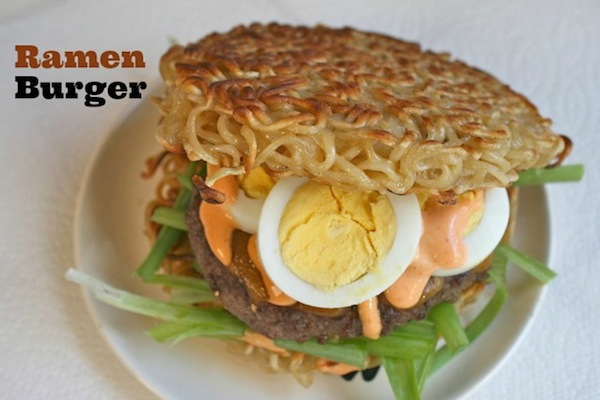 The Only Way I was Going To Taste The Ramen Burger Is If I Made It Myself!