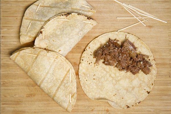 Tacos toothpicks