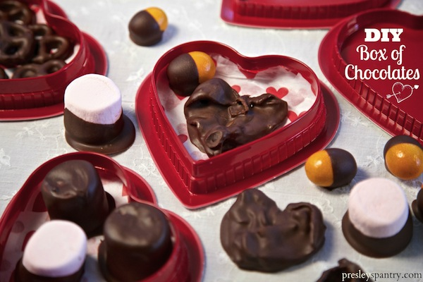 Food Craft: DIY Box Of Chocolates For Valentine's Day