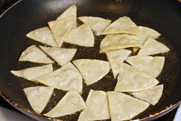 Frying-corn-tortillas