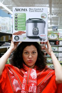 a great priced rice cooker found at Walmart
