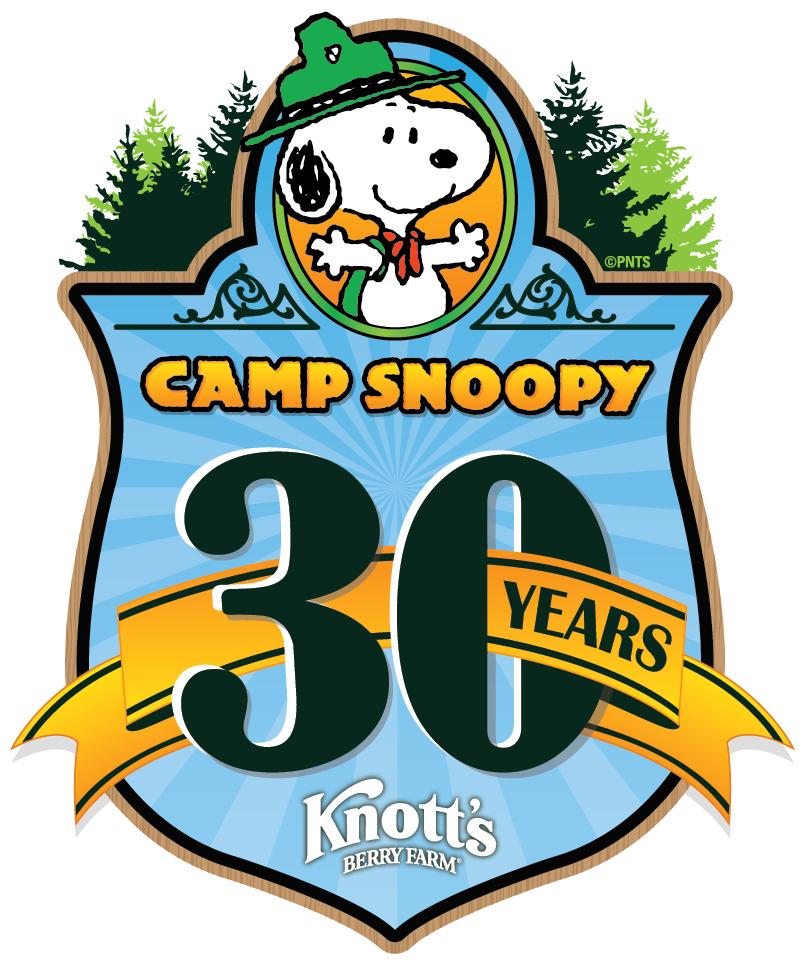 Camp Snoopy 30th Anniversary Logo