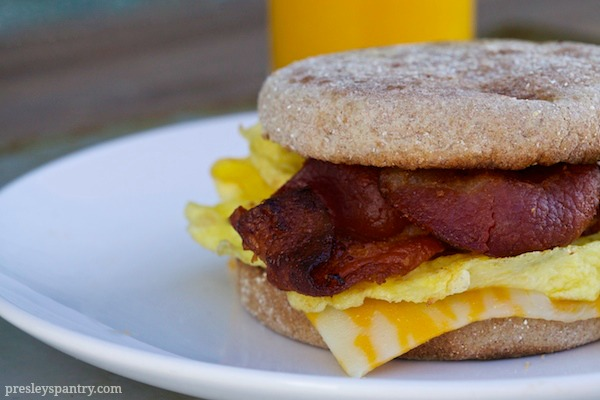 Our Back To School Morning Routine With A Breakfast Sandwich