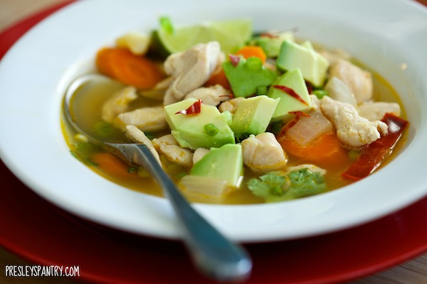 Get Well Soon Mexican Chicken Soup And Other Cold Remedies