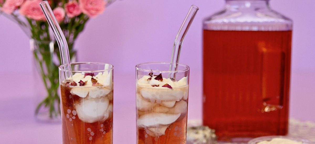 Tadin Rose Buds Make Delicious Cheese Tea!