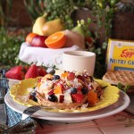 Waffle fruit salad is a new years resolution worth keeping. Get all the ingredients at Walmart.