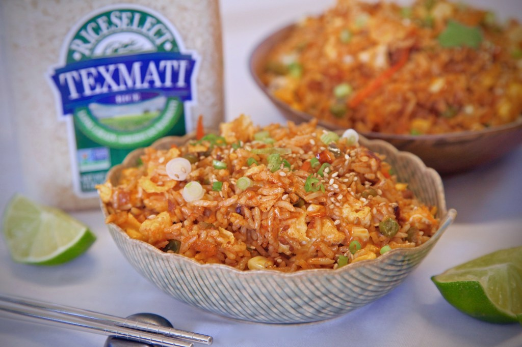 Spicy Soy Chorizo Fried Rice Texmati RiceSelect