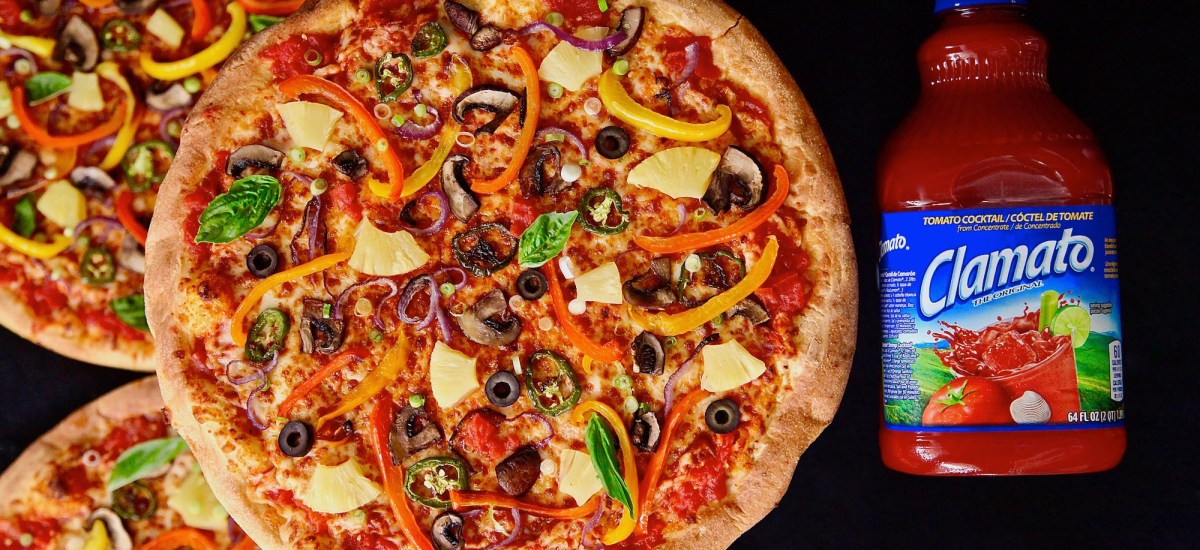 Spicy Peppery Vegetable Pizzas