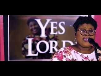 VIDEO: Judikay – Yes Lord LIVE mp4 download