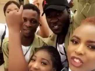 Bbnaija: Laycon Video During Nysc
