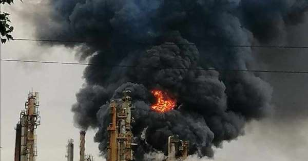 Probe launched into Engen refinery inferno