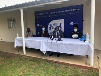 Health Minister visits George amid rising coronavirus cases